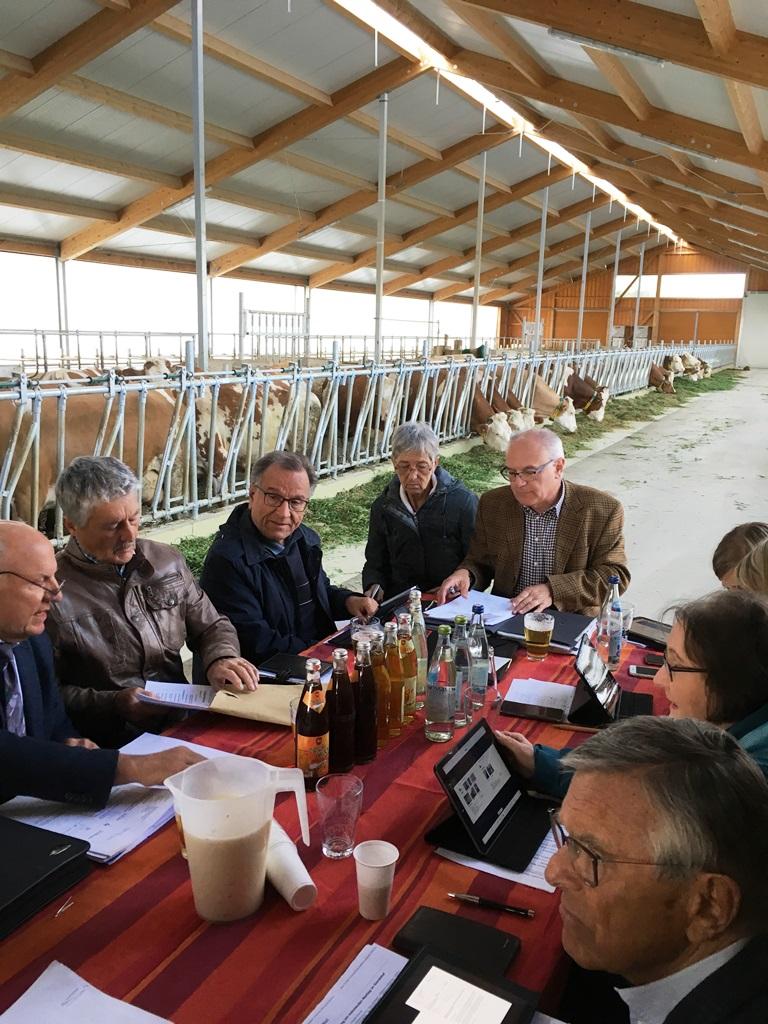 CSU-Fraktion zu Besuch beim Gurrenhof