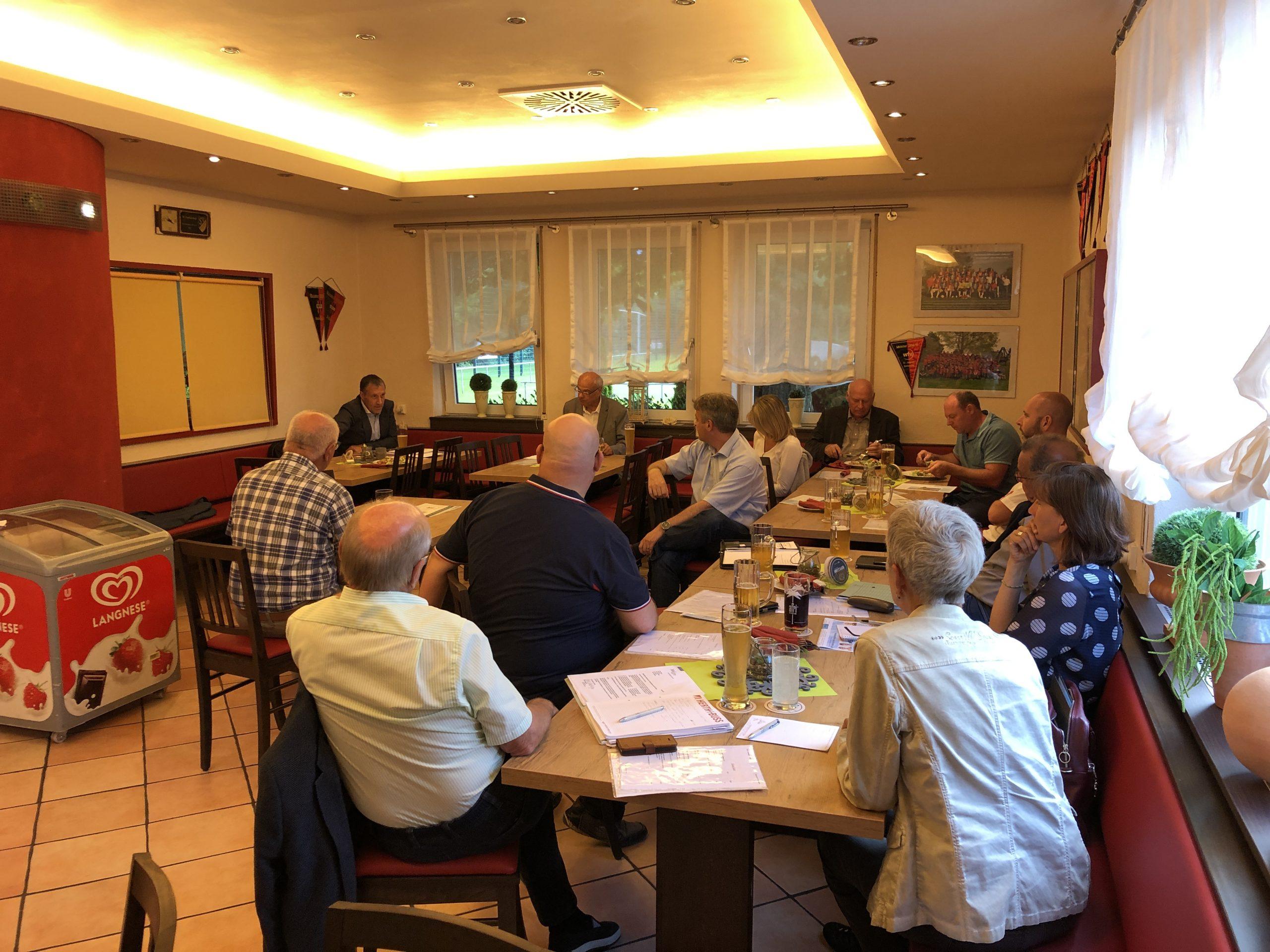 Fraktion vor Ort – CSU-Fraktionssitzung beim SV Offenhausen