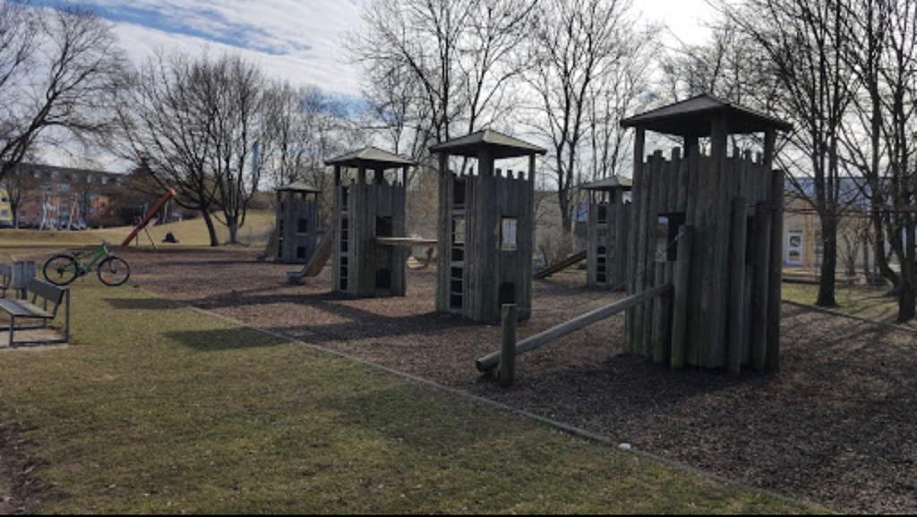Spielplatz-Sanierung im Vorfeld
