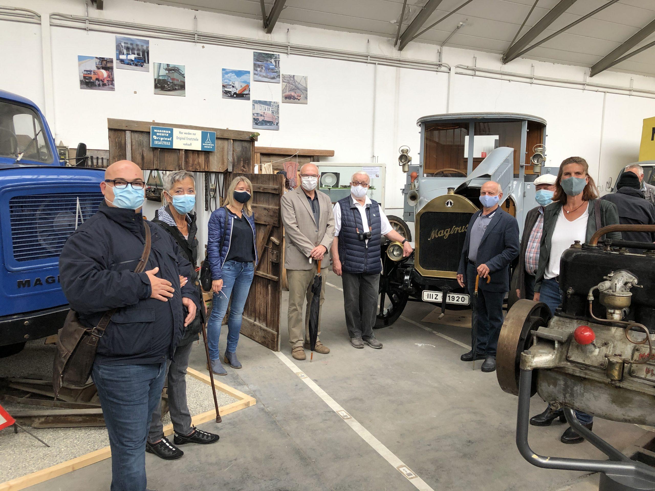 Besuch im Magirus Iveco Museum in Neu-Ulm