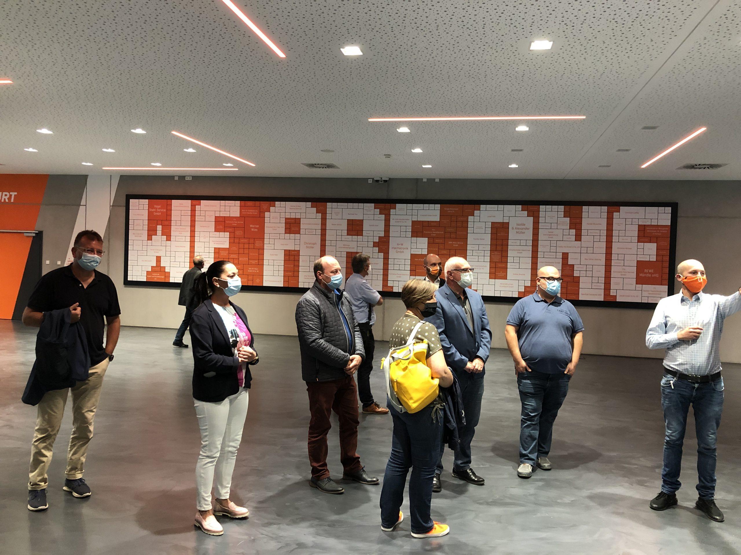 Fraktion vor Ort – CSU-Fraktionssitzung im Orange Campus