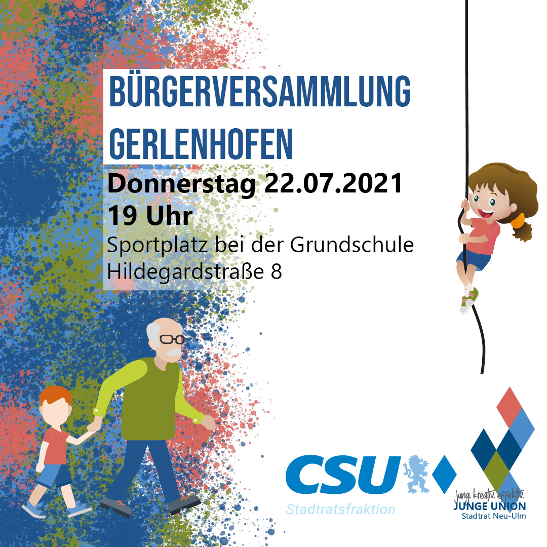 Bürgerversammlung Gerlenhofen